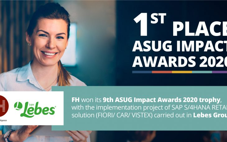 FH won 1st place in the ASUG Impact Awards